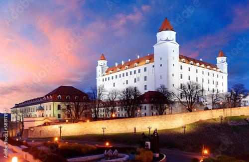 Foto op Plexiglas Kasteel Bratislava castle