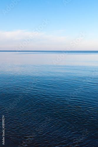 Staande foto Zee / Oceaan Still Balltic sea.
