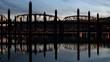 Portland OR Hawthorne Bridge Closeup Water Reflection
