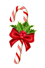 Christmas Candy Cane. Vector I...