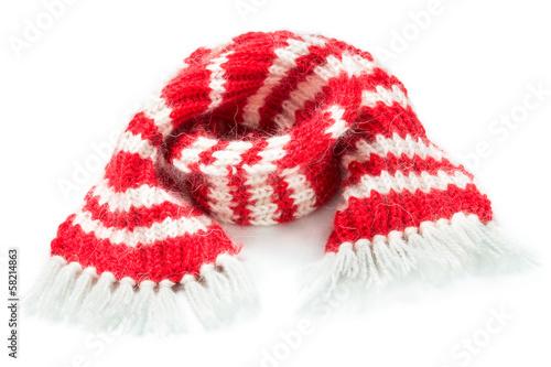 Fotografie, Obraz  Red woolen scarf