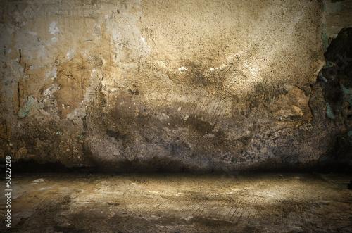 Obraz Old Unpainted Room - fototapety do salonu
