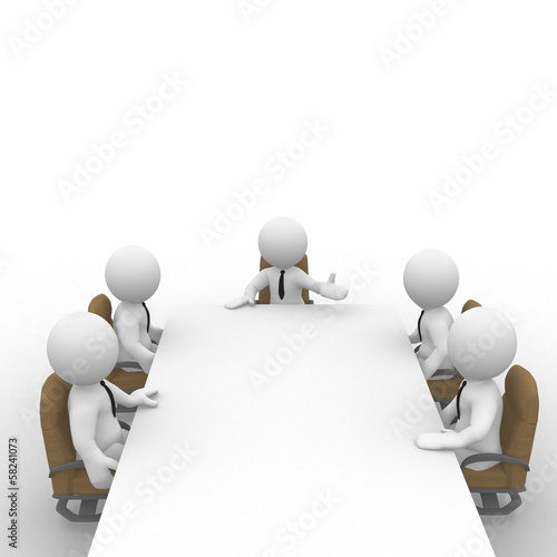 Fotografie, Obraz  Meeting