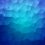 Abstract Triangle Geometrical Colorful Background