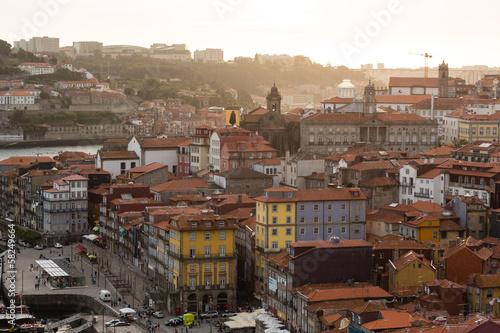 Staande foto Afrika Porto, rives de Douro