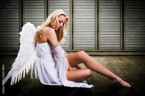 samotny anioł