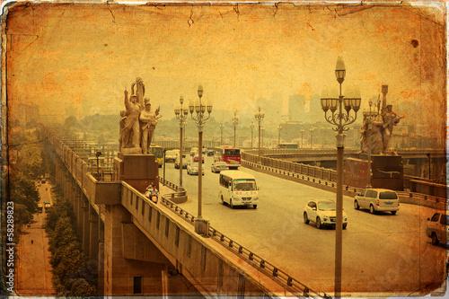 Papel de parede Nanjing - Yangtze River Bridge, built in 1968