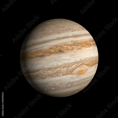 Planet Jupiter Canvas-taulu