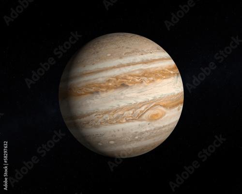 Obraz na plátně Planet Jupiter