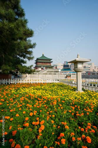 Foto op Plexiglas Xian xi an cityscape,Shaanxi province of china