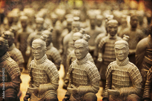 Chinese terracotta army - Xian Wallpaper Mural