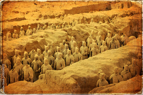 Foto op Aluminium Xian Chinese terracotta army - Xian