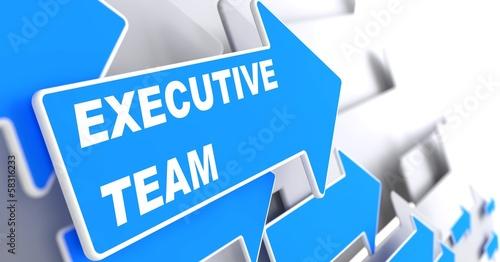 Executive Team on Blue Arrow. #58316233