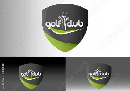 Fotografie, Obraz  Golf Club Logo