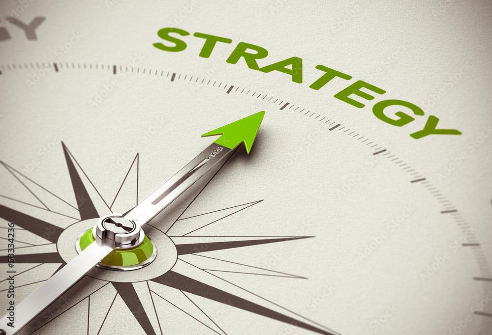 Fototapeta Green Business Strategy