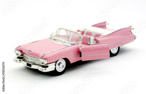 Fotografie, Obraz  pink cadillac