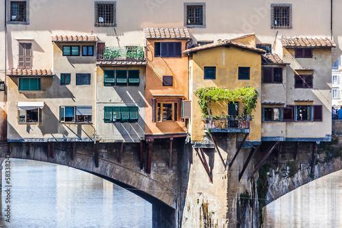 Photo sur Aluminium Florence Ponte Vecchio Florence Italy