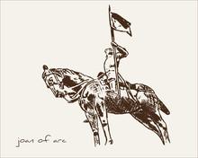 Joan Of Arc -  Statue