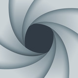 Swirly white paper background