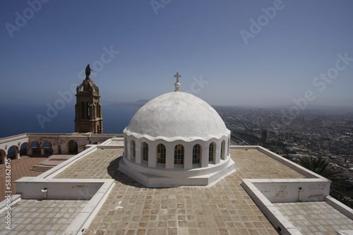 Photo Stands Algeria Oran Santa Cruz Chapel