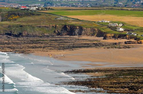 Fotografie, Obraz Widemouth Bay