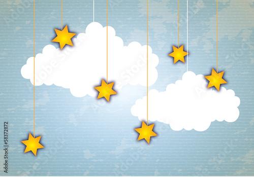 Montage in der Fensternische Himmel cloud icon