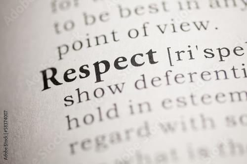 Stampa su Tela Respect