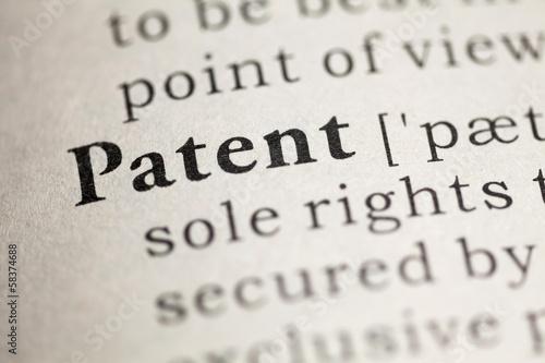 Fototapeta Patent