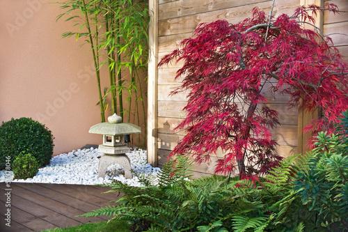 Jardin japonais en automne