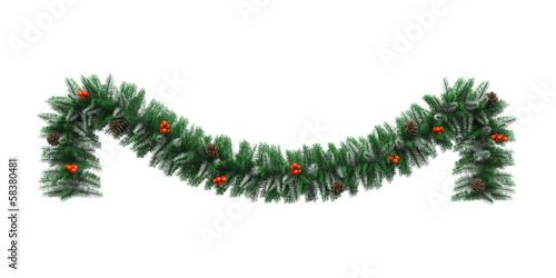 Fotografia  Christmas Garland Decoration