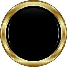 Black Gold Button.