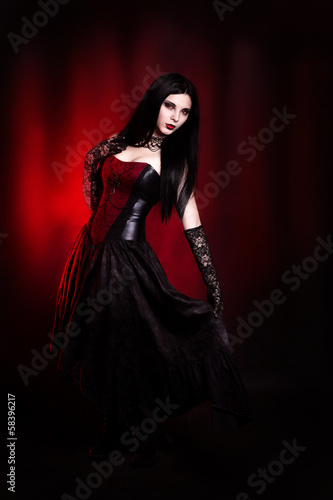 Девушка вампир Poster