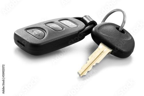Fotografie, Obraz  Klíče od auta s dálkovým ovládáním