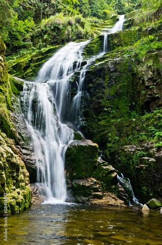 famous-kamienczyk-waterfall-poland