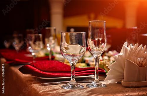 Fotografie, Obraz  restaurant set