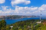 Bosphorus bridge in Istanbul Turkey