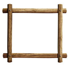 Old Wooden Frame Background Is...