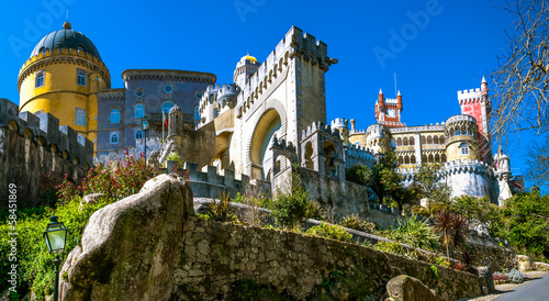 Canvas Print The Pena National Palace