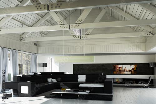 Sanierte Landhaus Architektur Buy This Stock Illustration