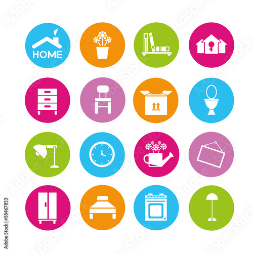 Home Design Icons Interior Design Furniture Icons Buy