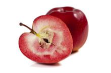 Pomme à Chair Rouge