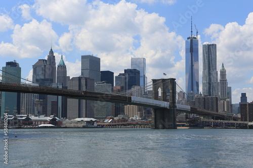 Brooklyn Bridge / Manhattan - New York City Poster