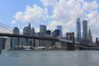New York City, Manhattan / Brooklyn Bridge
