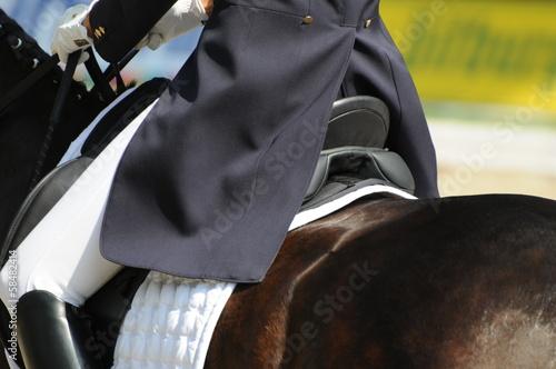 La pose en embrasure Equitation Dressurreiten