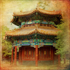Obraz Beijing, Lama Temple - Yonghe Gong Dajie