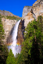 Yosemite Bridalveil Fall Water...