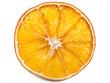 canvas print picture - Getrocknete Apfelsinenscheibe