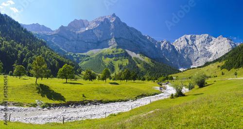 Fototapety, obrazy: Panorama Landschaft in Bayern
