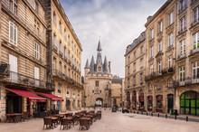 Place Du Palais Et La Porte Cailhau à Bordeaux, Gironde, Nouvelle-Aquitaine, France