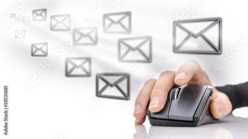 Fotografie, Obraz  Email marketing